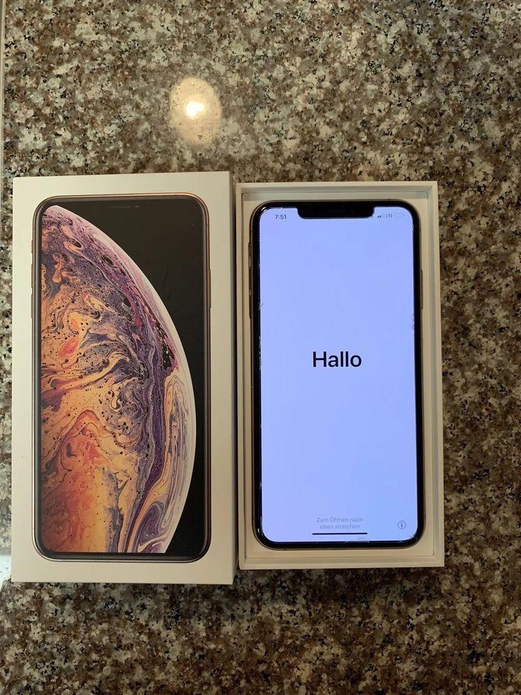 Apple iphone xs max 64gb gold att a1921 cdma gsm