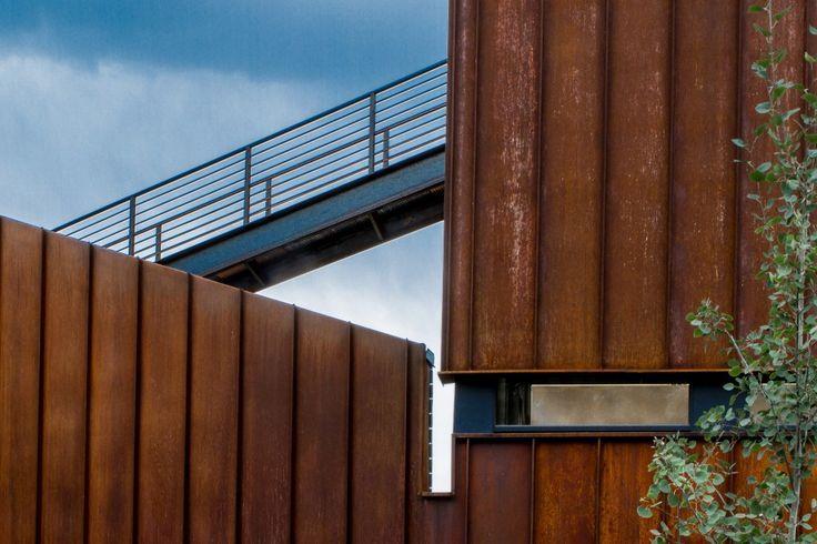 Standing Seam Corten Siding Google Search House Architecture Design Roof Architecture