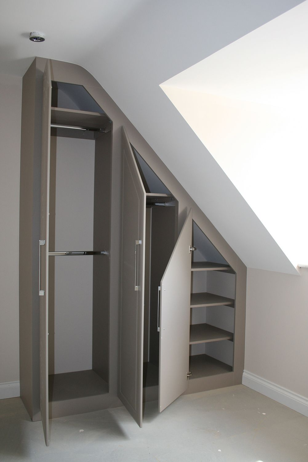 Fitted Furniture For Loft Conversions and Angled Ceilings - Furniture By Design #loftconversions