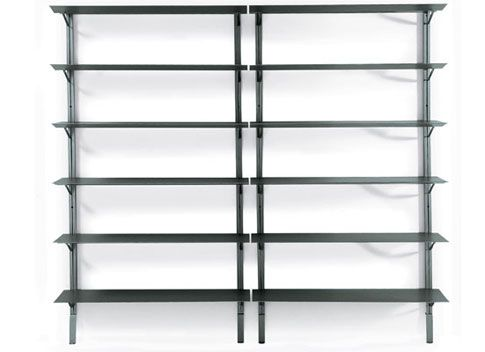 Marvelous Simple And Sleek Wall Mounted Shelving From SPACE Awesome Design