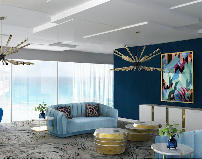 wohnzimmereinrichtung 2018, ▷ 1001 + ideen für wohnzimmer wandfarbe 2018, Design ideen