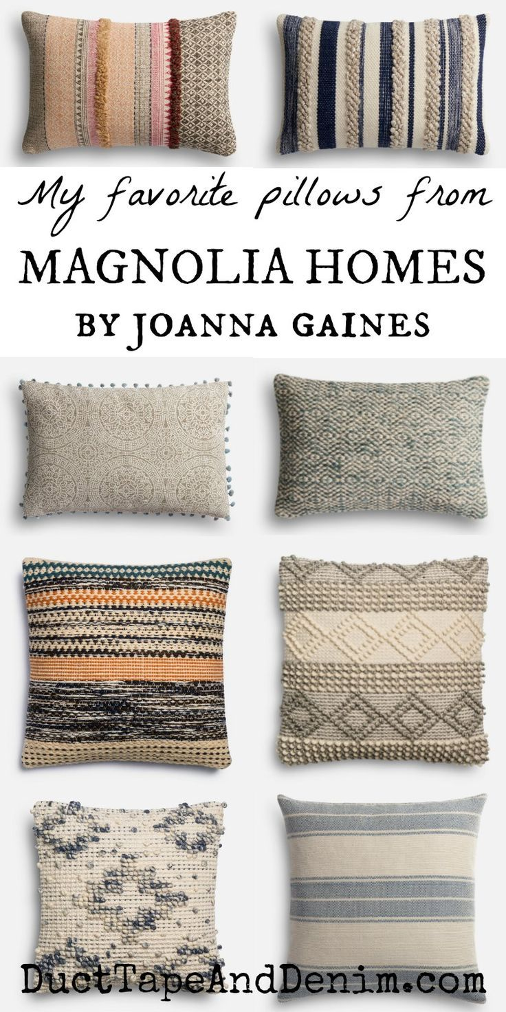 How to Get the Look of Joanna Gaines Pillows on a Budget #magnoliahomesjoannagaines
