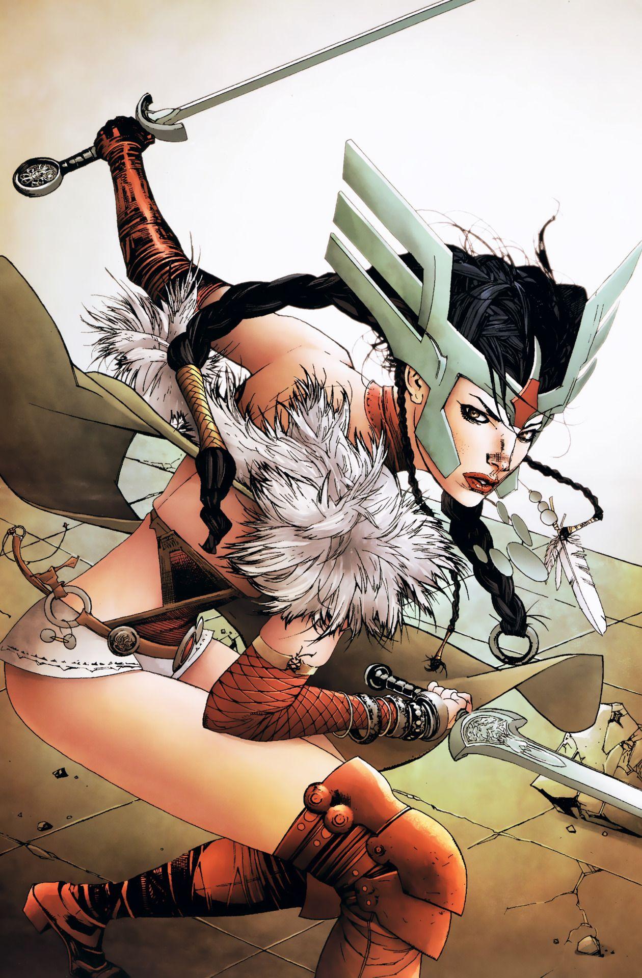 Sif (Character) - Comic Vine | lady sif | Marvel comics