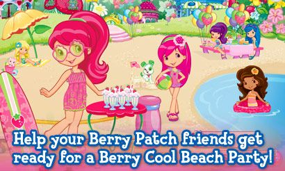 Strawberry Shortcake S Berry Cool Beach Party