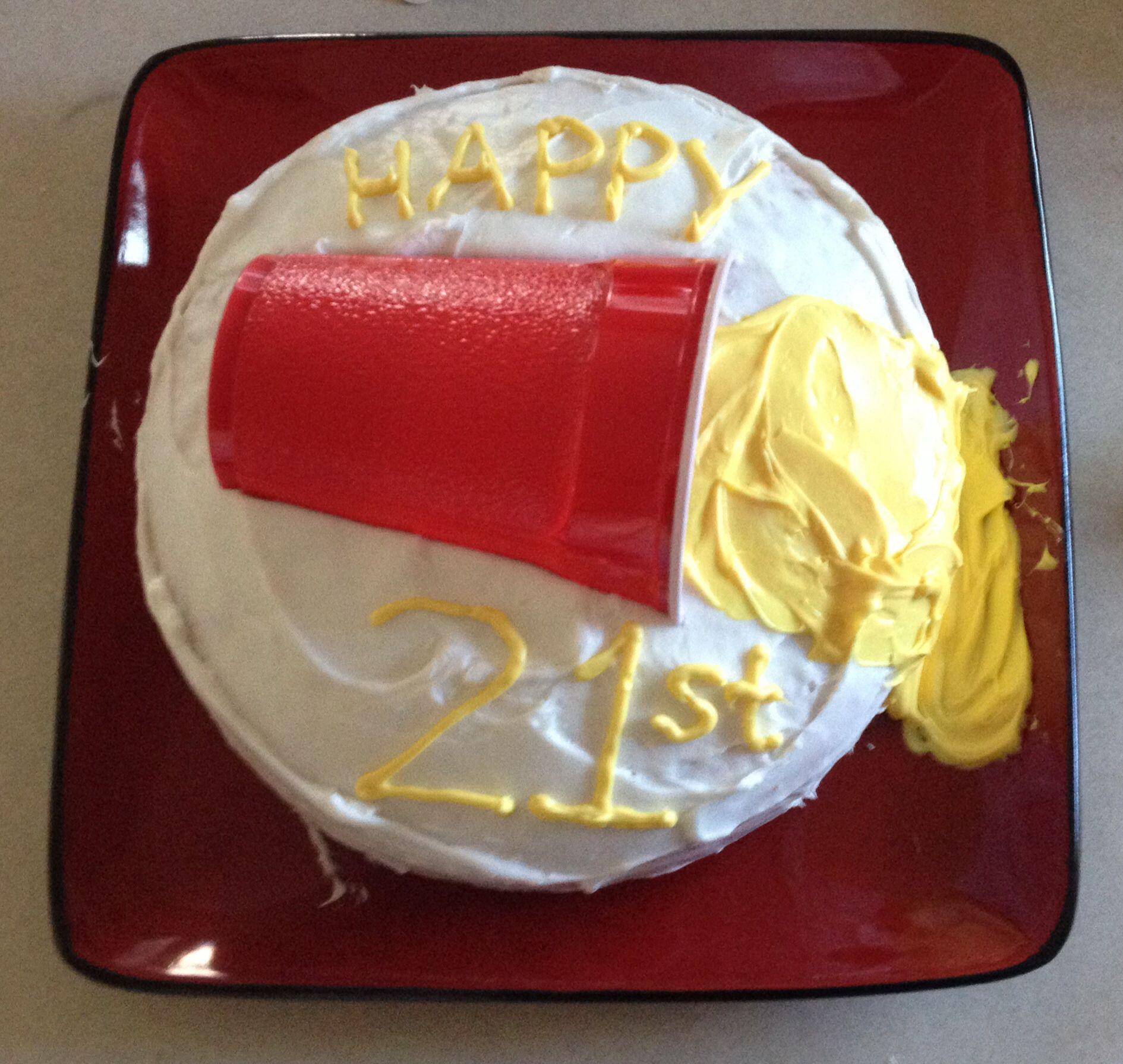 21st Birthday Cake 21rst Bday Mick 21st Birthday Cakes