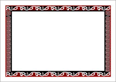 3b183fb4e3c52 36 Awesome maori border designs clip art | ece | Maori art, Page ...