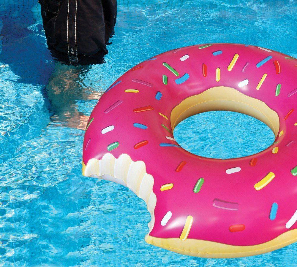 christmas wish list amazoncom bigmouth inc gigantic donut pool float toys games