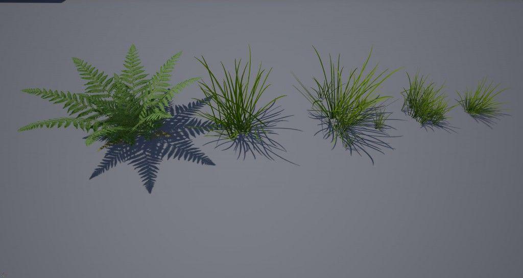 SpeedTree, Unreal Engine 4, UE4, gamedev, indiedev, indiegamedev