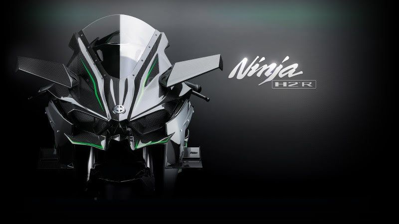 Kawasaki Ninja H2R Wallpapers 4K HD Desktop Backgrounds Phone Images