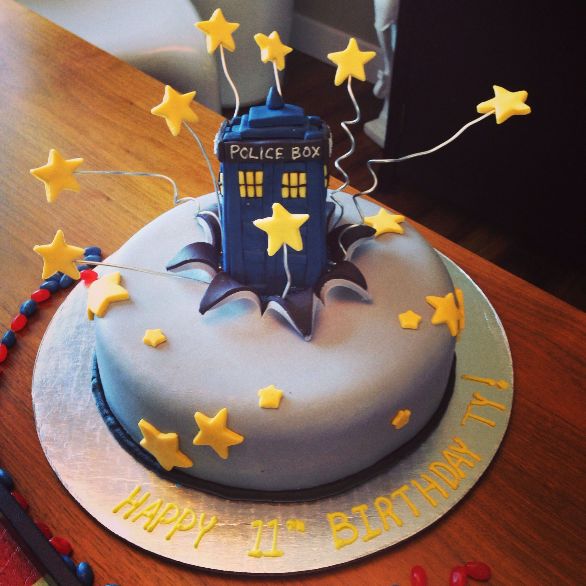 Excellent Dr Who Birthday Cake Tardis Cake Doctor Who Birthday Doctor Funny Birthday Cards Online Inifofree Goldxyz