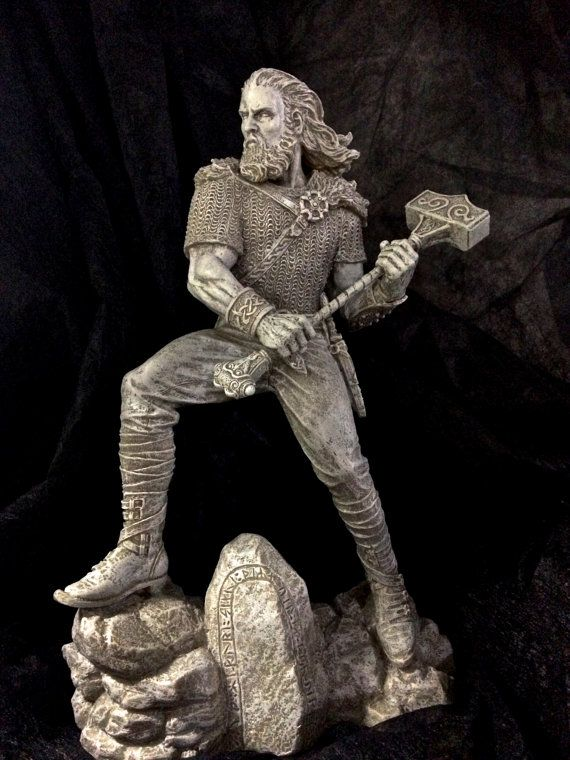 Hey, I found this really awesome Etsy listing at https://www.etsy.com/se-en/listing/400236017/thor-statue-stone-finish