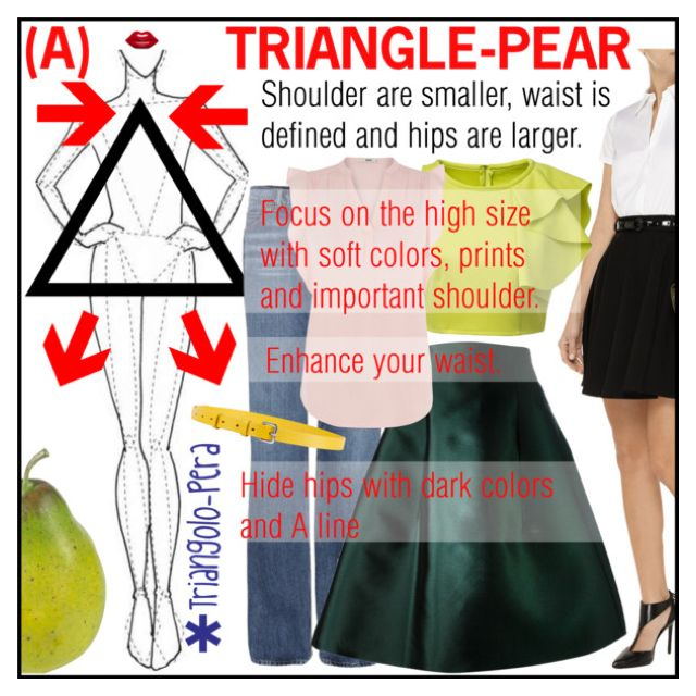 BODY MORPHOLOGY TRIANGLE-PEAR (A)
