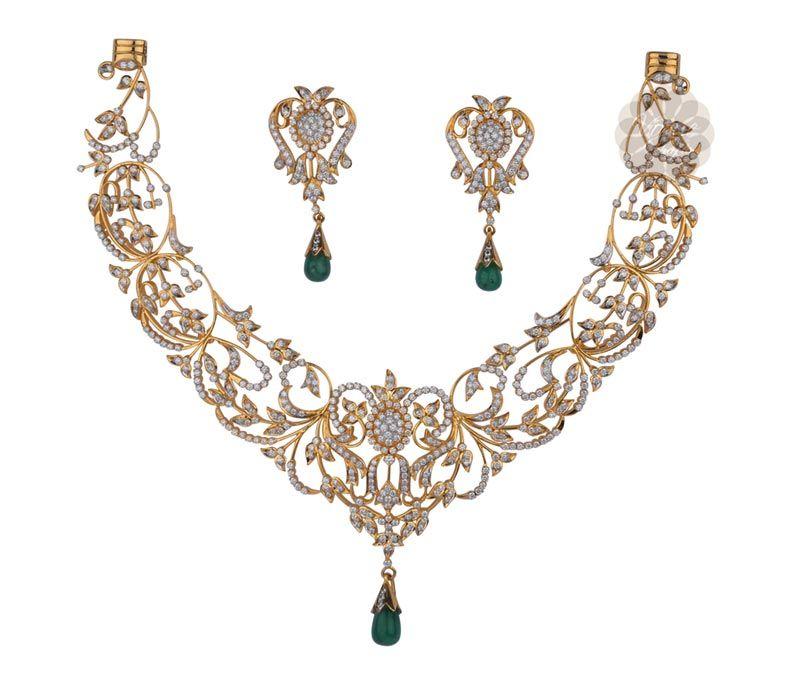 Vogue Crafts Designs Pvt Ltd manufactures Green Emerald and Gold