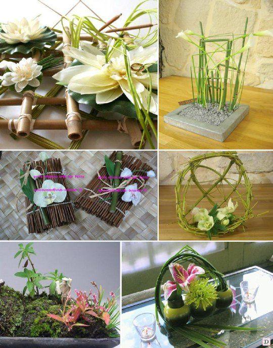decoration mariage asie porte alliances bambou. Black Bedroom Furniture Sets. Home Design Ideas
