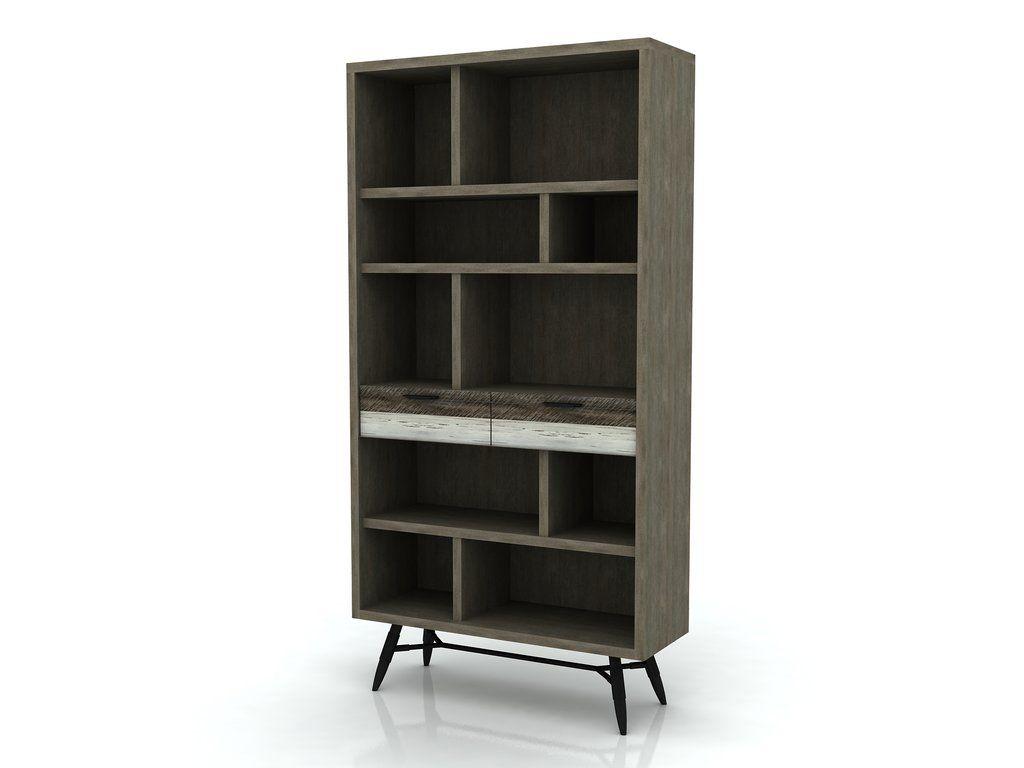 Vita boekenkast. Dit is een computer tekening, bij de andere foto\'s ...