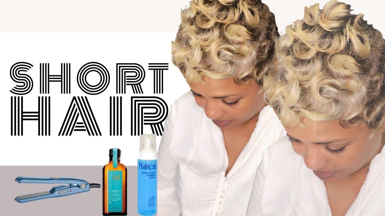 How to Finger Wave Short Hair MimiJ Haute Hair