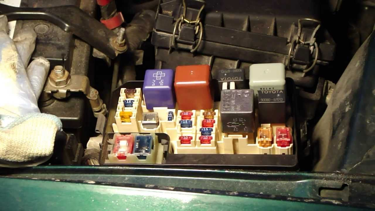 How to locate fuse-boxes places in Toyota Corolla