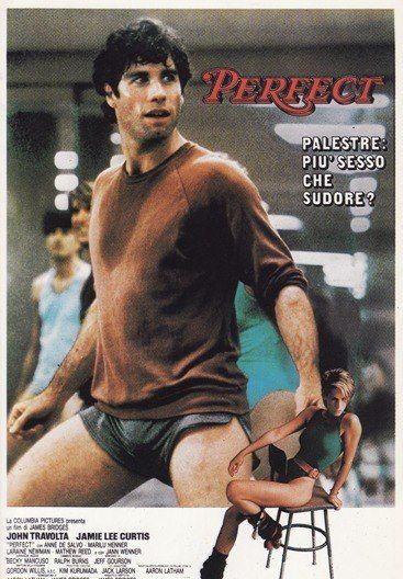 John Travolta & Jamie Lee Curtis in Perfect (1985) | Movies