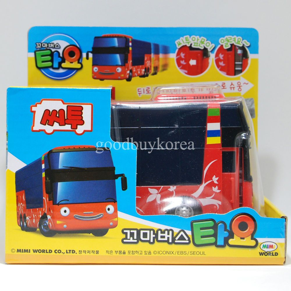 The Little Bus Tayo Citu City Tour Bus Korea Famous Tv Animation Toy In Toys Hobbies Ebay Kids Tv Tv Animation Little Bus