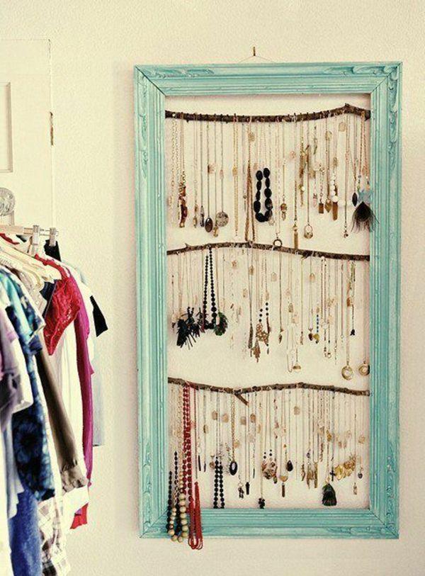 comment ranger ses bijoux bijoux pinterest porte. Black Bedroom Furniture Sets. Home Design Ideas