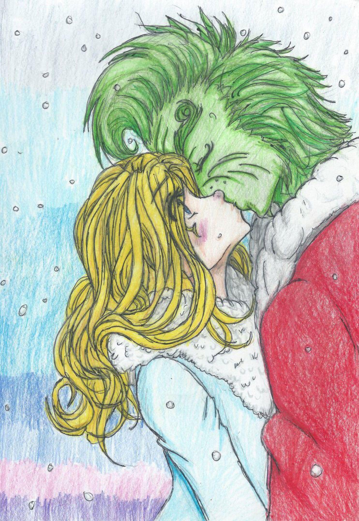 8cb3607461b6a How the Grinch Stole the Christmas Kiss by Inubaki on  DeviantArt ...