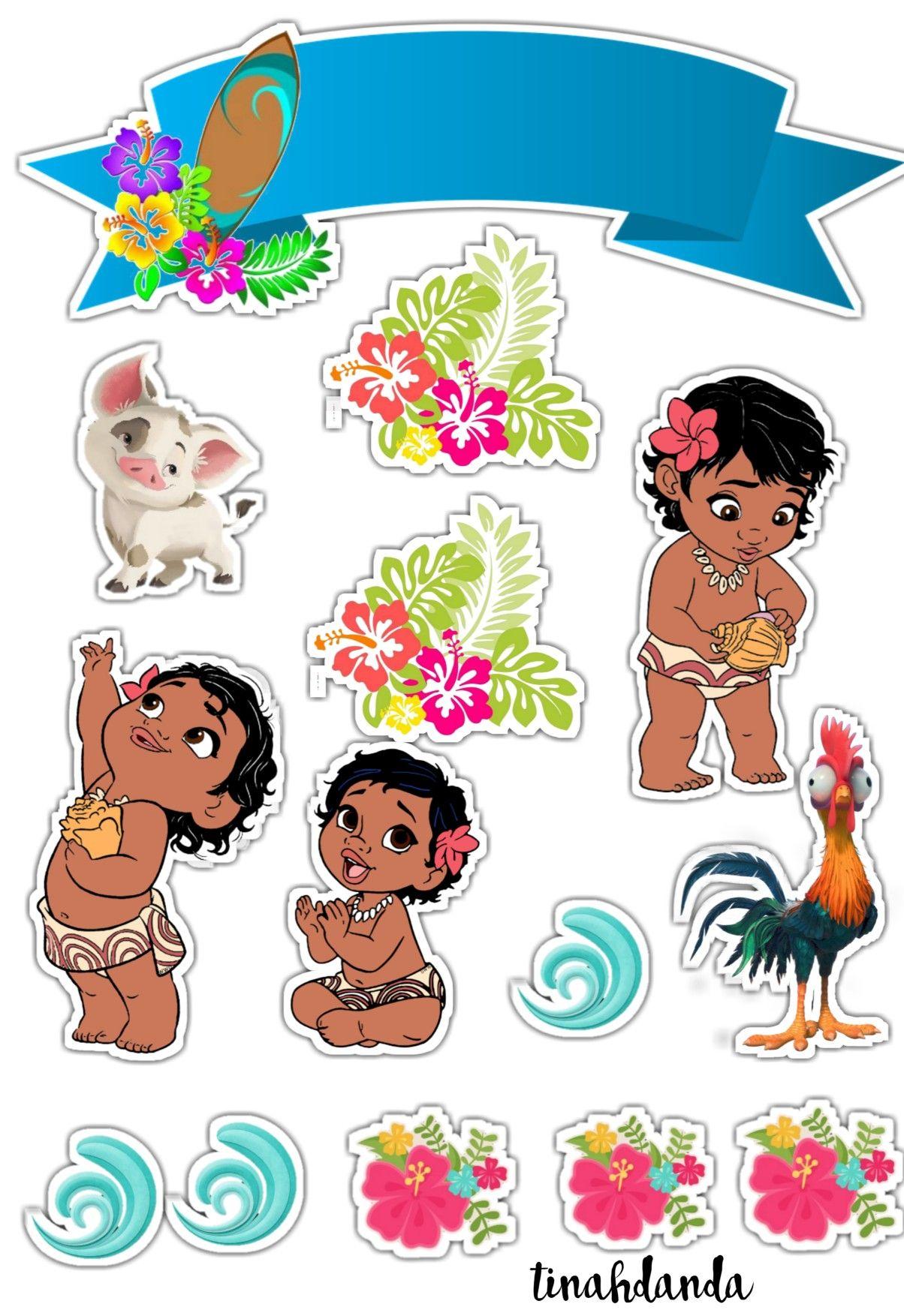 Baby Moana Aniversario Moana Moana Festa Infantil Festa De Aniversario Moana