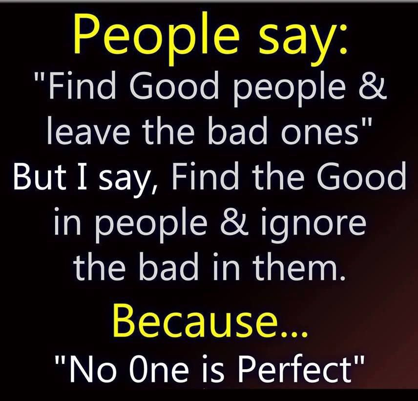 No One Is Perfect In This World Quotes