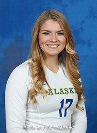 Alaska Nanooks Amberly Jeane 2016 Women S Volleyball Women Volleyball Volleyball Women