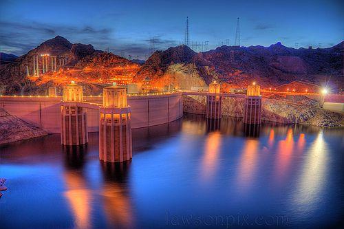 Wegbeschreibung zum Hoover Damm von Vegas Strip
