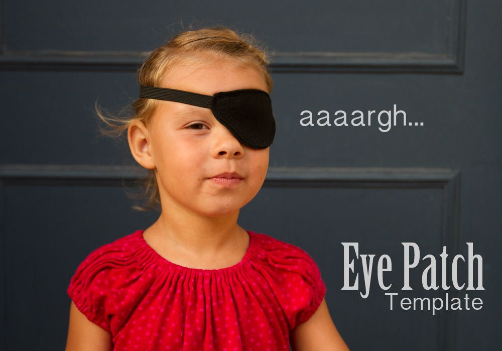 how to make an eye patch