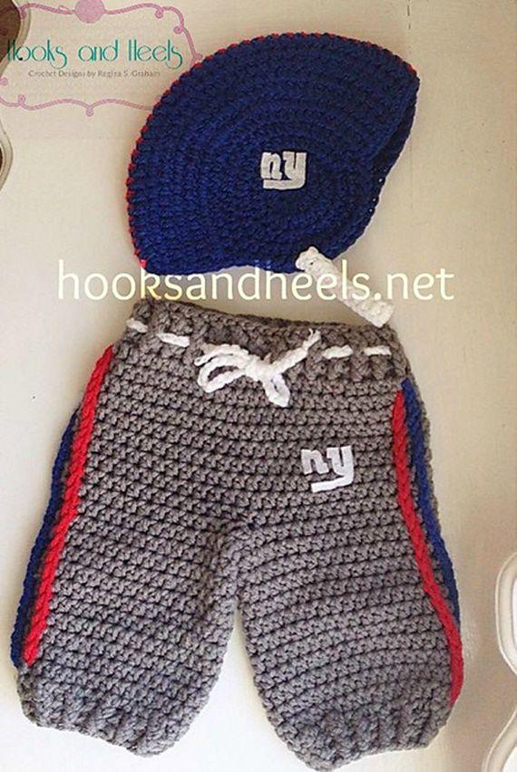 Crochet Baby Football Sweatpants Free Pattern - Crochet Baby Pants Free Patterns