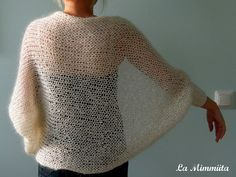 In a different language but the shawl is pretty.