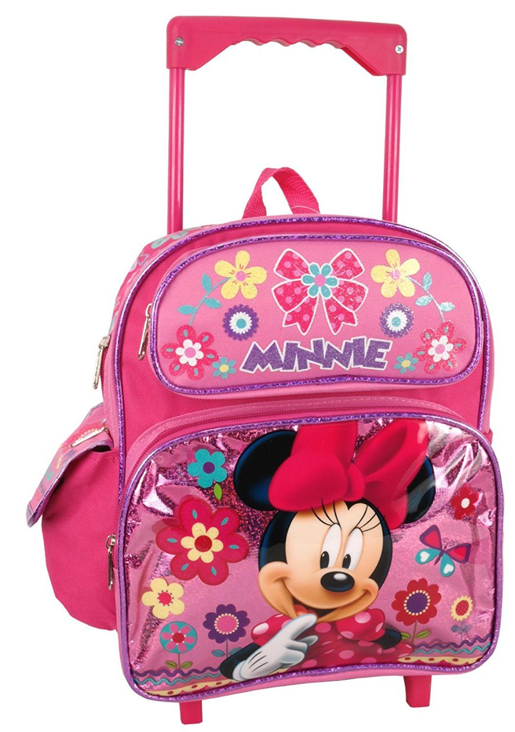 2d93e350cc Disney Minnie Mouse 12  Toddler Rolling Backpack -- You can find out more  details at the link of the image. (This is an Amazon Affiliate link and I  receive ...