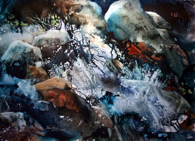 Kay Barnes Waterrcolors Watercolor Water Basic Watercolor