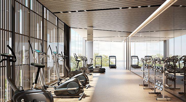 Baan plai haad pattaya by sansari gym interior gym room