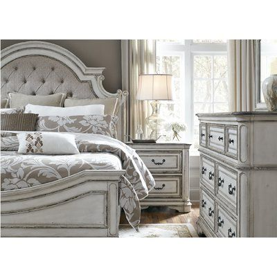 Rosdorf Park Kenton Standard 5 Piece Bedroom Set White