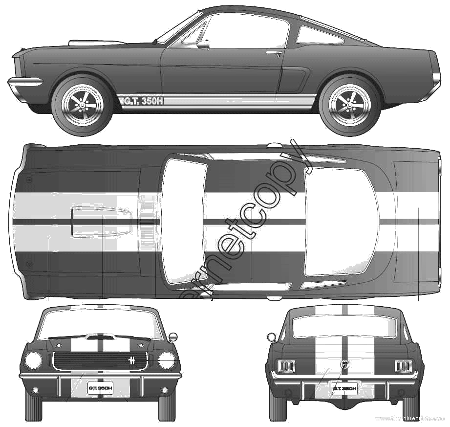 Found on Google from the-blueprints.com | Ford Mustangs and ...