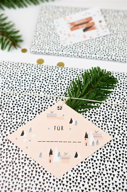 Geschenkanhänger Frohe Weihnachten.Free Printable Für Last Minute Geschenkanhänger Zu Weihnachten