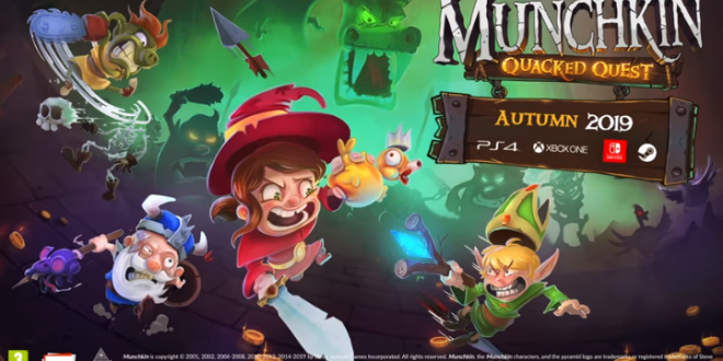 Munchkin Quacked Quest Trailer Is Here Different races