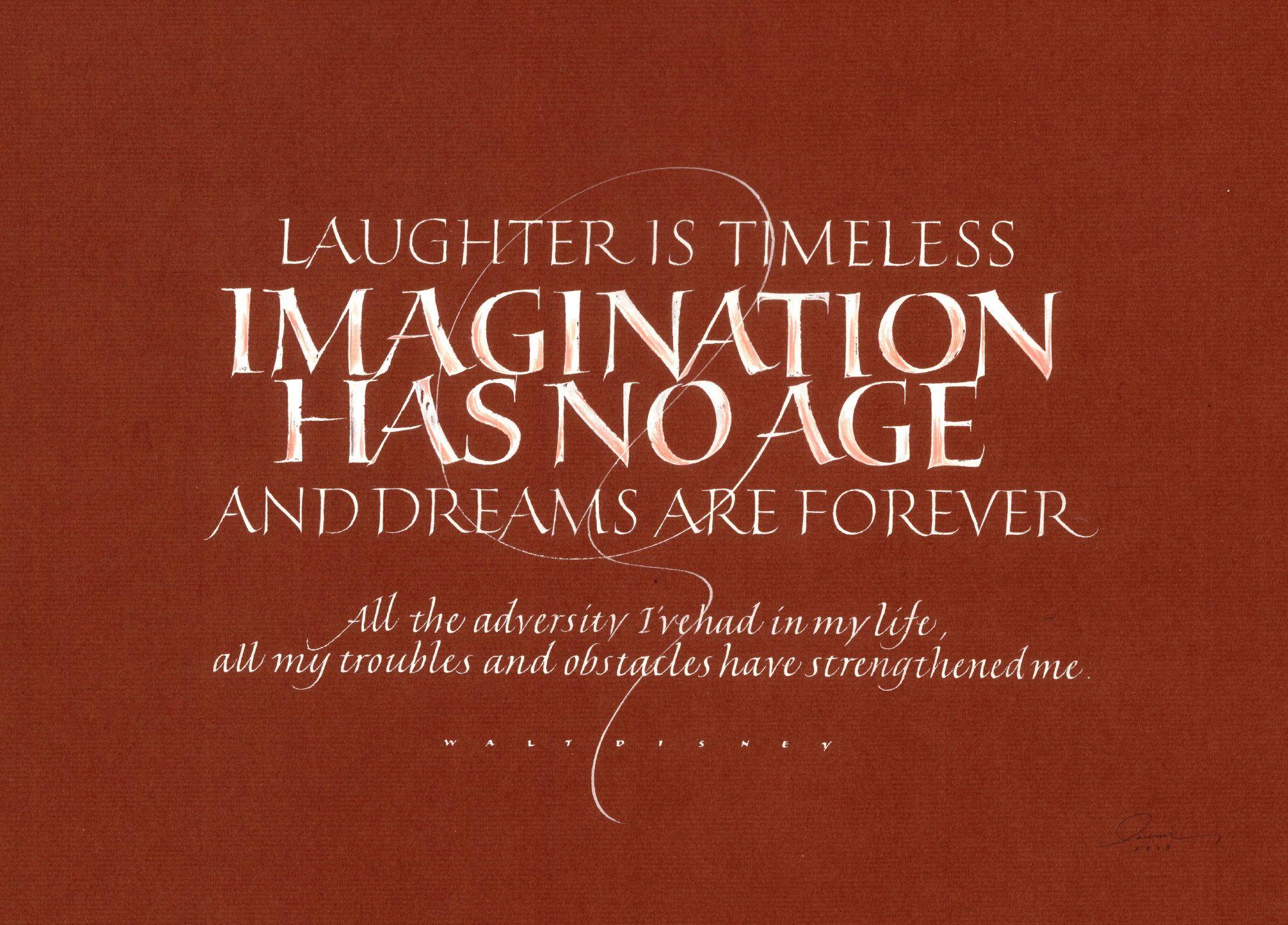 Imagination Has No Age Izumi Shiratani In