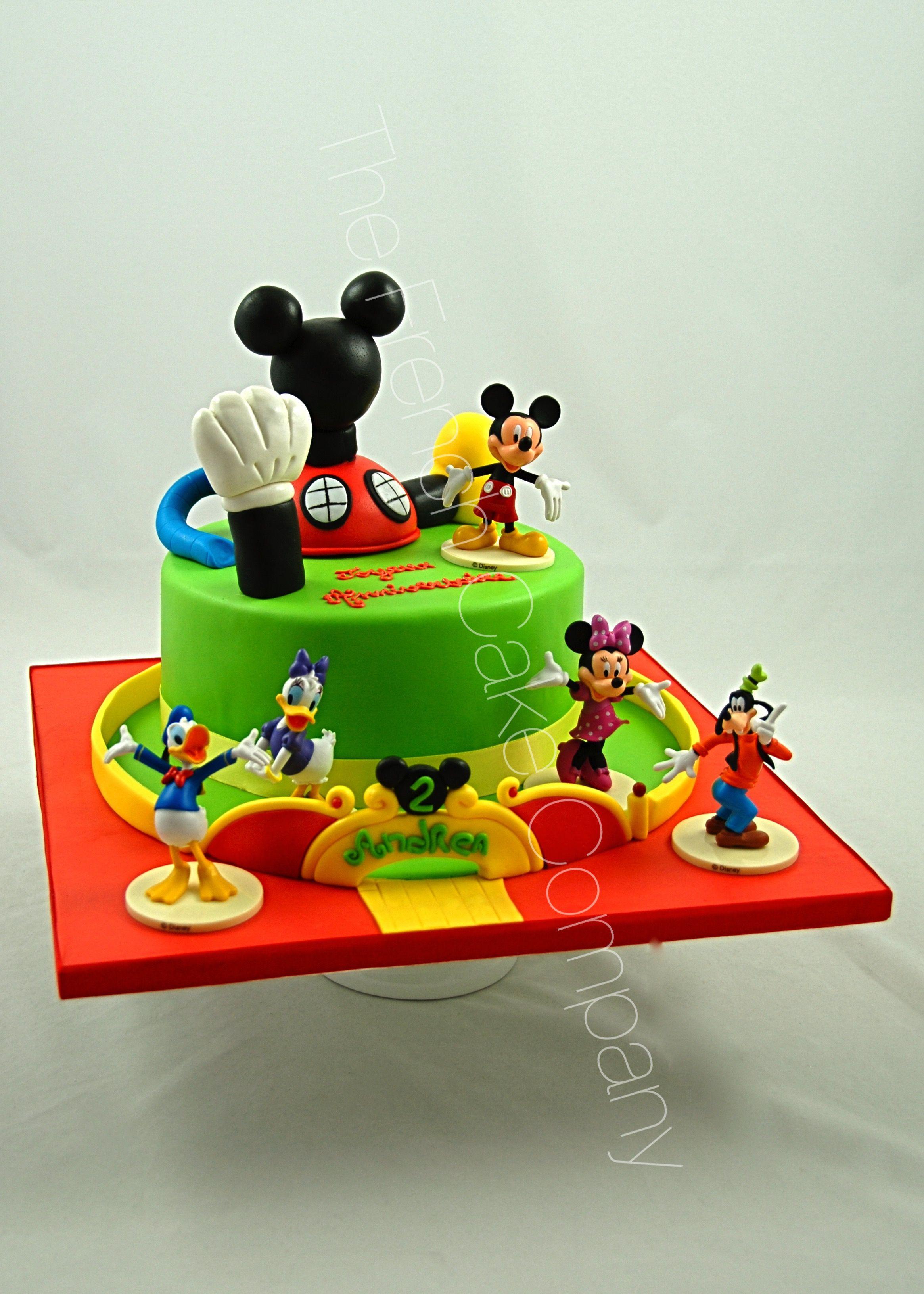 g teau d 39 anniversaire d cor la maison de mickey cake. Black Bedroom Furniture Sets. Home Design Ideas