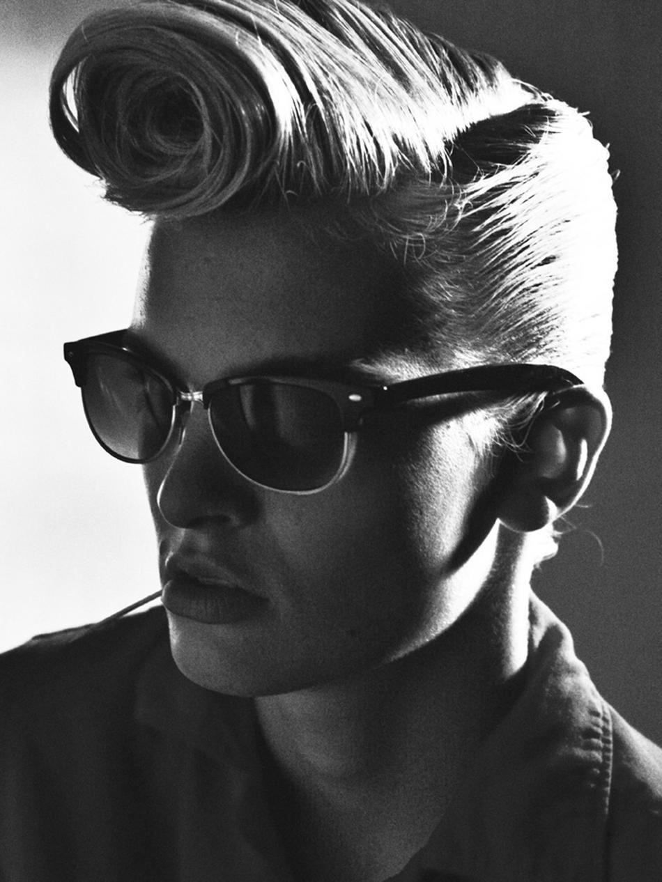 hair #rockabilly #roll #vintage #indie #rayban #rock #n