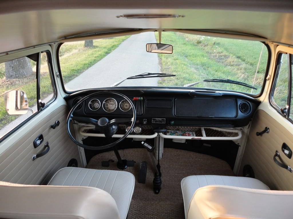 Vw early bay westfalia interior like the stock dash with for Interior westfalia