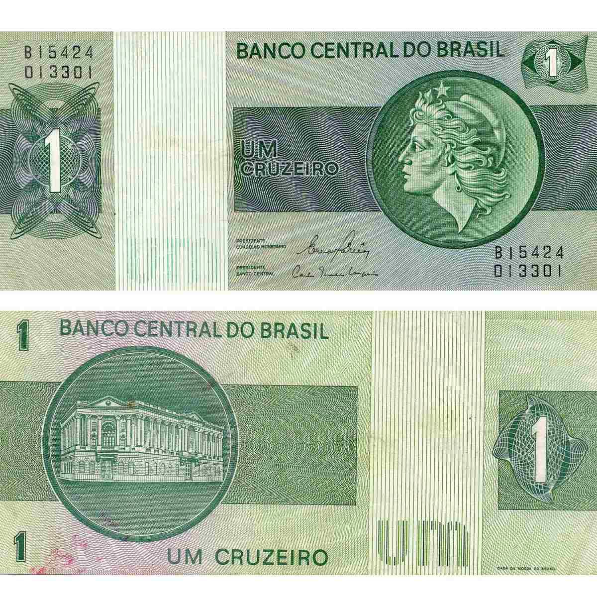 Cedula Nota 1 Um Cruzeiro Frete R500 816101 Mlb20278084542 042015