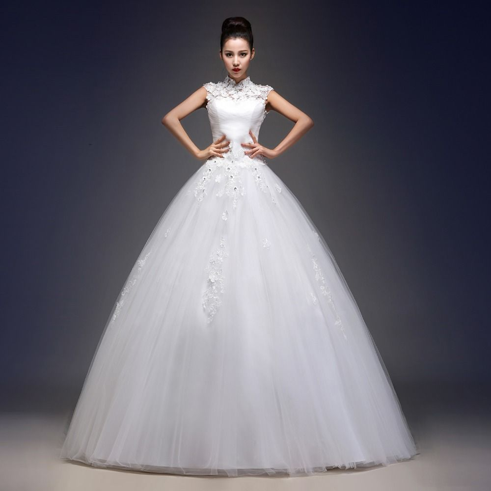 Click to buy ucuc ball gown wedding dress new arrival high