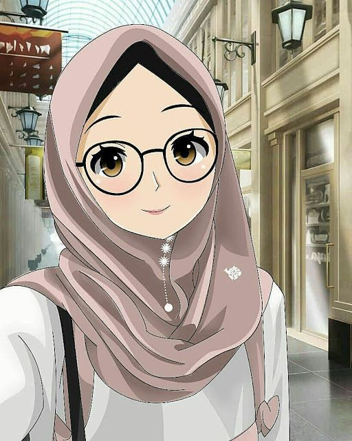 Jutaan Gambar Kartun Muslimah Cantik Islamic Cartoon Anime Muslimah Anime Muslim