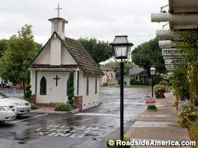 Tiny church in a store parking lot...Tustin, California