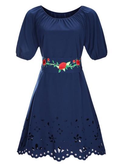 TRUTH /& FABLE Vestito Mini A-Line in Chiffon Donna