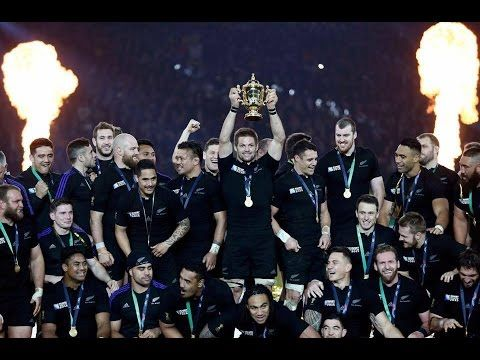 6dc6b31088d Fearsome All Blacks haka - Rugby World Cup 2015 final v Australia - YouTube
