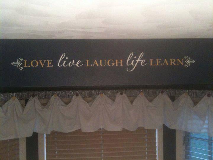 Uppercase Living vinyl Love decor. Found at http://meredithb.uppercaseliving.net